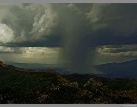 Rain Over Reddington Pass